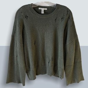 AUTUMN CASHMERE Distressed Boxy Top